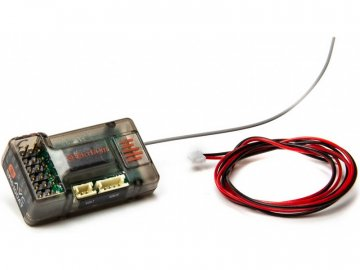 Spektrum přijímač SR6100AT DSMR 6CH AVC s telemetrií SPMSR6100AT