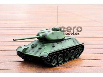RC tank T34/85 s kovovými pásmi