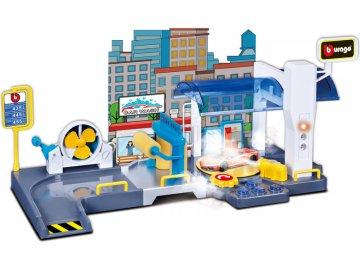 Bburago garáž s automyčkou BB18-30406