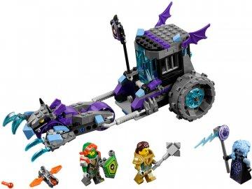 LEGO Nexo Knights - Ruina a mobilní vězení LEGO70349