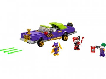 LEGO Batman Movie - Joker a jeho vůz Notorious Lowrider LEGO70906
