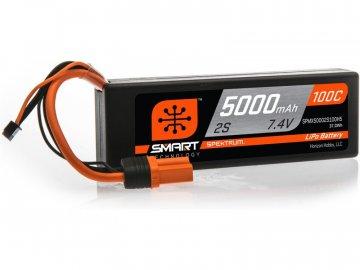 Spektrum Smart LiPo 7.4V 5000mAh 100C HC IC5 SPMX50002S100H5