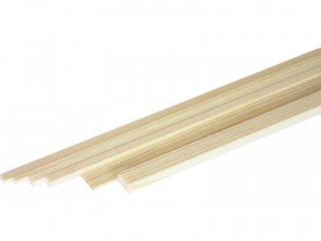 ASTRA Broušený smrkový nosník 2x2mm (1m) A2015