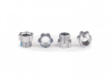 Traxxas matice hřídele hliníková šedá (4) TRA8886A