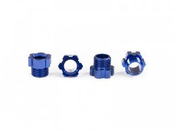 Traxxas matice hřídele hliníková modrá (4) TRA8886X