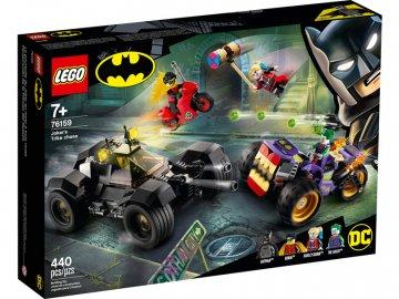 LEGO Super Heroes - Pronásledování Jokera na tříkolce LEGO76159