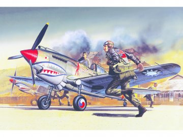 Academy Curtiss P-40B (1:72) AC-12456