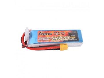 Gens Ace TATTU: 2600 mAh 11,1 V 25 C Gény Ace XT60