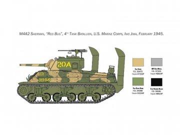 Italeri M4 Sherman U.S. Marine Corps (1:35) IT-6583