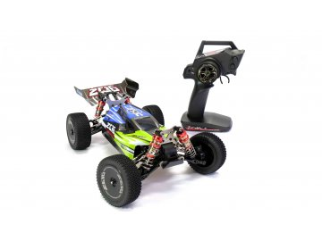 RC bugina WLTOYS 144001 4WD 1:14, 2.4 GHz, proporcionál., profi podvozok, RTR