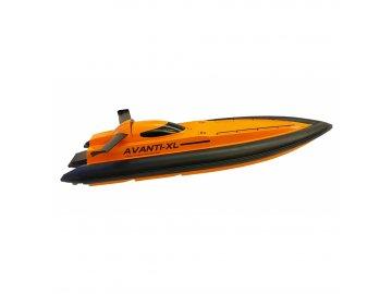 RC loď AVANTI XL df-models 2,4GHz 81cm žltá