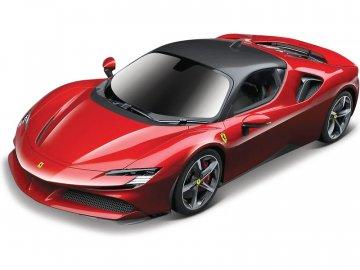 Bburago Ferrari SF90 Stradale 1:24 červená BB18-26028