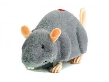 RC myš na kolieskach