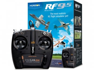 Realfight RealFlight 9.5 simulátor, ovladač Spektrum RFL1200