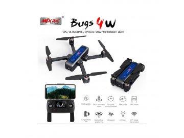 bugs 4w brushless 5g 2k kamera gps funkce folow me stabilizace obrazu rtf 2