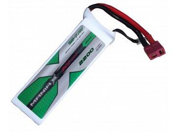 Náhradná batéria koncovka T-dean 2200mAh 30C