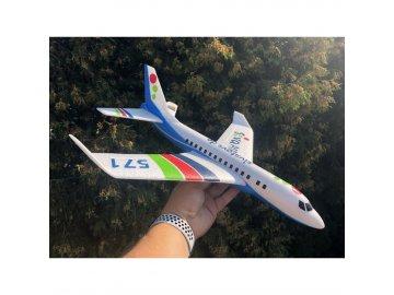 Siva Air 571 - Modré hádzadlá z EPP dopravné lietadlo