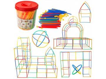 Slamková stavebnica pre deti - BOX 400