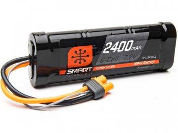 Spektrum Smart NiMH 7.2V 2400mAh IC3 SPMX24006C3