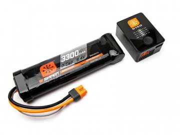 Spektrum Smart PowerStage NiMH 8.4V, nabíječ S150 SPMXPS1I