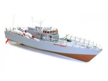 HT: Torpédový čln 1: 115 2,4 GHz RTR - červený