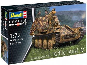 Revell Sturmpanzer 38(t) Grille Ausf. M (1:72) RVL03315
