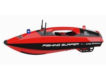 Joysway Rybárska zavážacia loďka surfer GPS 2,4 GHz RTR