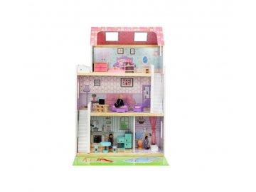 Domček pre bábiky s príslušenstvom + Bábiky,86 cm