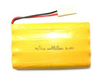 HB akumulátor 700mAh 9.6V Ni-Cd Plug Mini Tamiya / HB-P100