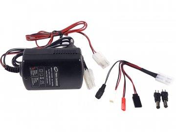 Robitronic nabíječ Twin Charger Tx 240mA / Rx 0.9A AC R01002