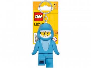 LEGO Licence LEGO Iconic svítící klíčenka - Žralok LGL-KE155