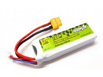 Batéria GPX Extreme: 1800mAh 7.4V 40C 2S1P GPX Extreme