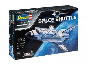 Revell raketoplán NASA 40. výročí (1:72) (giftset) RVL05673