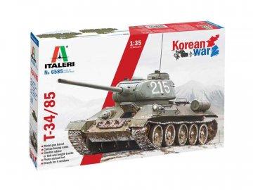 Italeri T-34/85 Korean War (1:35) IT-6585