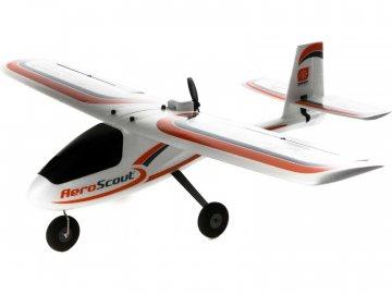 Hobbyzone AeroScout 1.1m SAFE RTF, Spektrum DXS HBZ38000