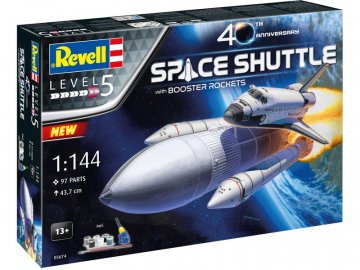 Revell raketoplán 40. výročí (1:144) (giftset) RVL05674
