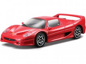 Bburago Ferrari F50 1:43 červená BB18-31108
