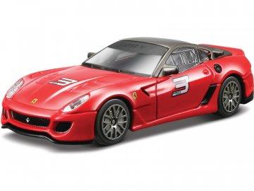 Bburago Ferrari 599xx 1:43 červená BB18-31109