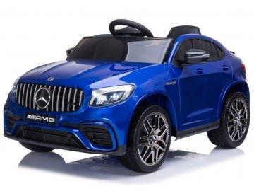 Mercedes QLS 5688 Electric Ride On Car 4x4 Blue