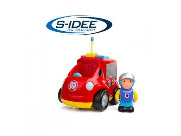 RC hasičské auto pre najmenších, LED a zvukové efekty