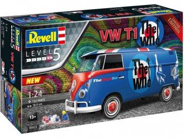 Revell Volkswagen T1 The Who (1:24) (giftset) RVL05672