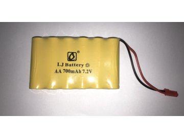 Náhradná batéria 700mAh 7.2V NiCd JST