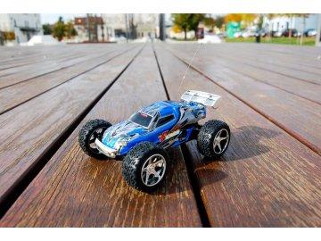 WL toys rc auto mini buggy, modrá/ čierna