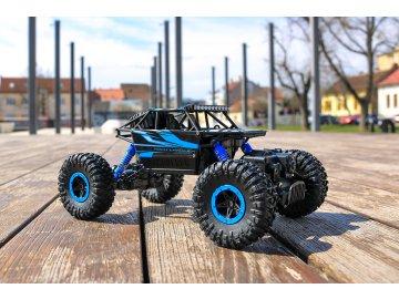 ROCK CRAWLER 4WD 1:18 MODRÁ
