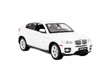 RC auto BMW X6- biela, na diaľkové ovládanie