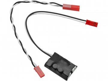 Axial řídicí jednotka LED, 3-porty AXIC1097