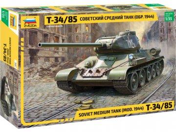 Zvezda T-34/85 (1:35) ZV-3687