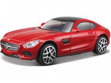 Bburago Mercedes-AMG GT 1:43 červená BB18-30321