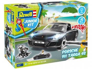 Revell Junior Kit - Porsche 911 Targa 4S RVL00822