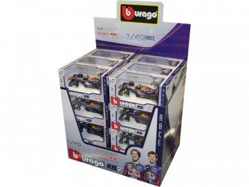 Bburago Red Bull Racing RB9 1:43 (sada 24ks) BB18-38111